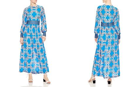 Sandro Roberta Eyelet Lace-Inset Maxi Dress - Bloomingdale's_2