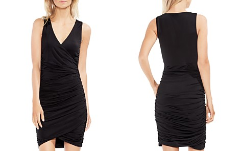 VINCE CAMUTO Ruched Faux-Wrap Dress - Bloomingdale's_2