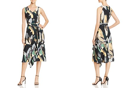Lafayette 148 New York Telson Abstract Print Dress - Bloomingdale's_2