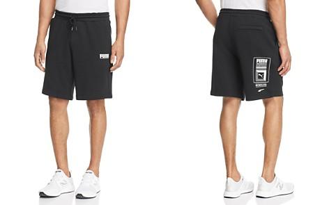 PUMA Logo Tower Shorts - Bloomingdale's_2