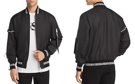 Versus Versace Logo Bomber Jacket - Bloomingdale's_2