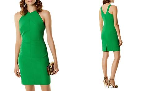 KAREN MILLEN V-Back Sheath Dress - Bloomingdale's_2