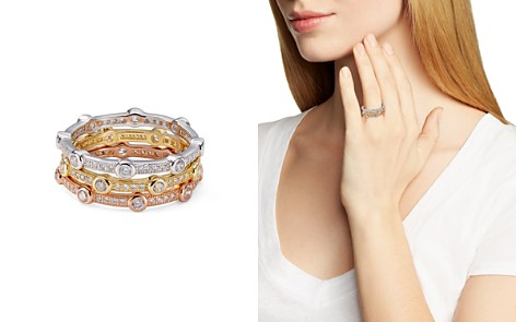 AQUA Stackable Multicolor Pavé Rings - 100% Exclusive - Bloomingdale's_2