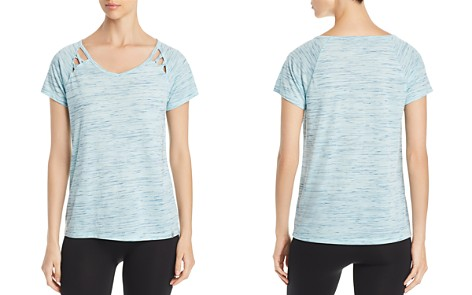 Marc New York Performance Space-Dyed Cutout Tee - Bloomingdale's_2