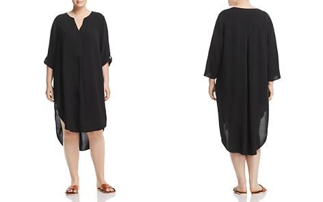 Cupio Plus High/Low Tunic Dress - Bloomingdale's_2