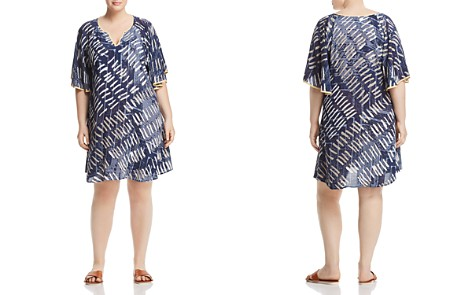 NIC+ZOE Plus Nights In Mojave Abstract-Print Dress - Bloomingdale's_2