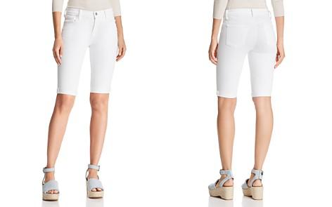 J Brand 811 Bermuda Denim Shorts in Blanc - Bloomingdale's_2
