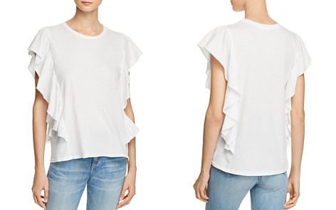Michelle by Comune Ruffle Crewneck Tee - Bloomingdale's_2