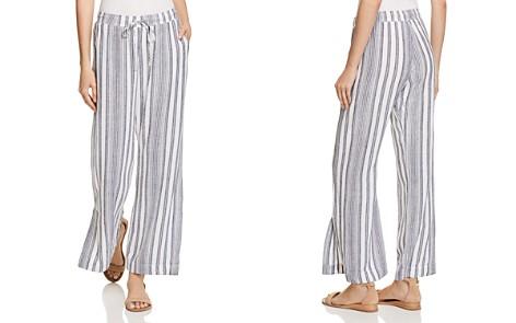 Bella Dahl Slit Wide-Leg Stripe Pants - Bloomingdale's_2