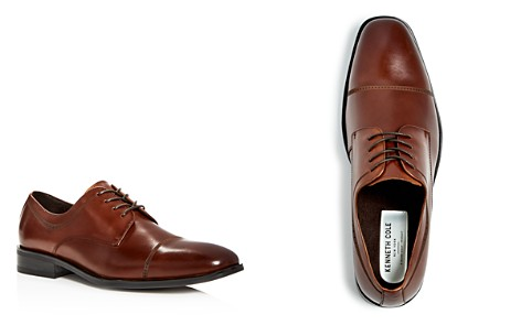Kenneth Cole Men's Leisure Time Leather Cap Toe Oxfords - Bloomingdale's_2