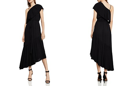BCBGMAXAZRIA Conrad One-Shoulder Asymmetric Dress - Bloomingdale's_2