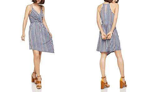 BCBGeneration Striped Asymmetric Dress - Bloomingdale's_2