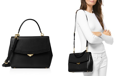 Michael Kors Ava Medium Leather Satchel - Bloomingdale's_2