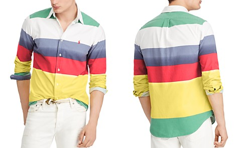 Polo Ralph Lauren Classic-Fit Striped Cotton Oxford Shirt - Bloomingdale's_2