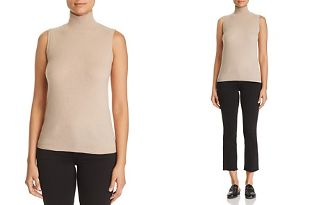C by Bloomingdale's Sleeveless Cashmere Sweater - 100% Exclusive _2