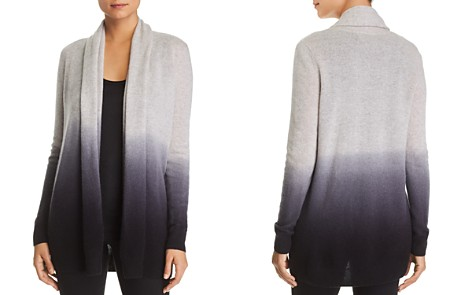 C by Bloomingdale's Dip-Dye Cashmere Cardigan - 100% Exclusive _2