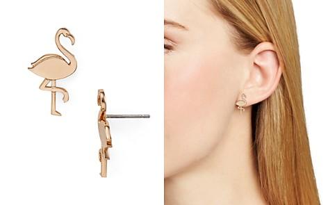 kate spade new york Flamingo Stud Earrings - Bloomingdale's_2