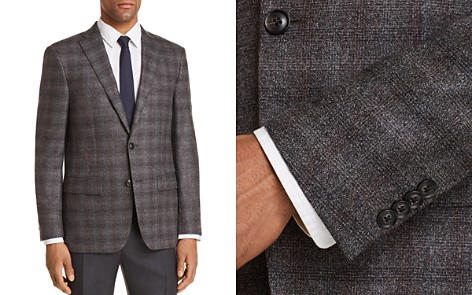 John Varvatos Star USA Luxe Plaid Slim Fit Sport Coat - Bloomingdale's_2