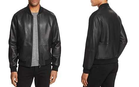 Boss Mirton Leather & Suede Bomber Jacket - 100% Exclusive - Bloomingdale's_2