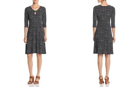 Leota Lianne Dot-Print Keyhole Dress - Bloomingdale's_2