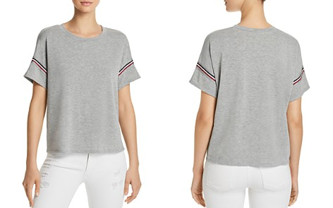 AQUA Striped-Trim Tee - 100% Exclusive - Bloomingdale's_2