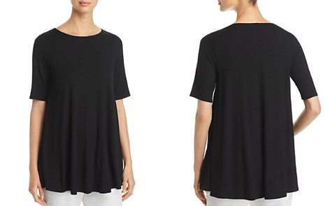Eileen Fisher Seamed Swing Top - Bloomingdale's_2