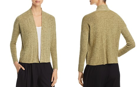 Eileen Fisher Marled Open-Front Cardigan - Bloomingdale's_2