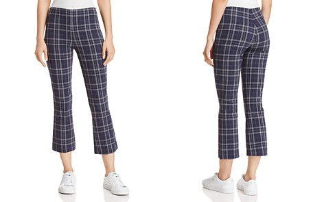 Bailey 44 Campus Plaid Cropped Flared Pants - Bloomingdale's_2