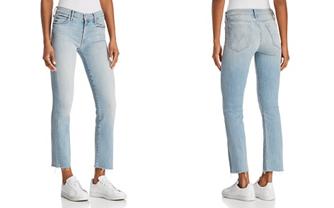 MOTHER Rascal Ankle Snippet Jeans in Tinge - Bloomingdale's_2