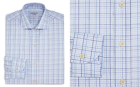 Ledbury Multi Check Slim Fit Dress Shirt - Bloomingdale's_2