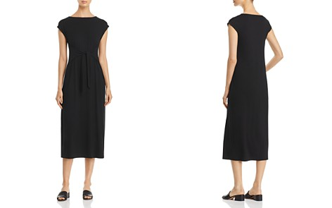 Eileen Fisher Tie-Waist Midi Dress - Bloomingdale's_2