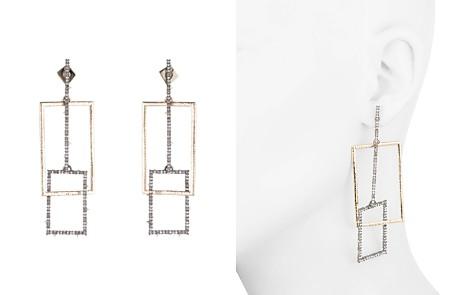 Alexis Bittar Linked Crystal Rectangles Post Earrings - Bloomingdale's_2
