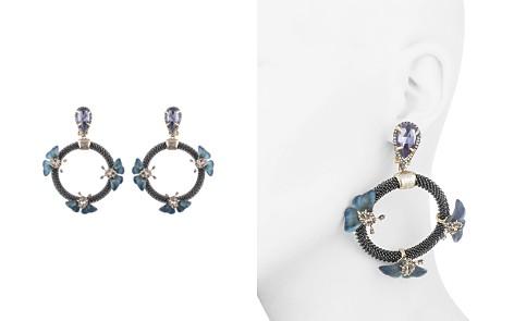 Alexis Bittar Floral Chain Loop Clip-On Drop Earrings - Bloomingdale's_2