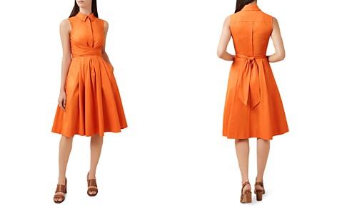 HOBBS LONDON Alesha Tie-Waist Shirt Dress - Bloomingdale's_2