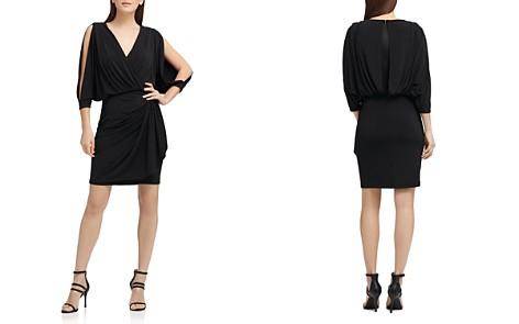 Donna Karan Split-Sleeve Jersey Dress - Bloomingdale's_2