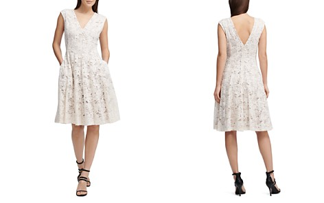 Donna Karan New York Fit-and-Flare Lace Dress - Bloomingdale's_2