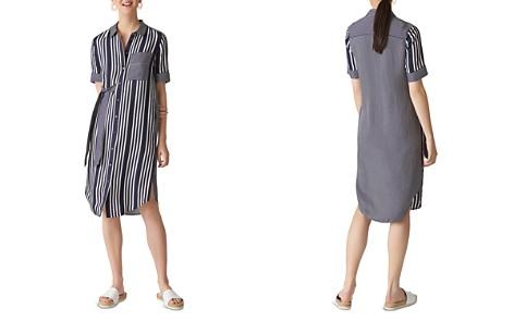 Whistles Multi-Stripe Shirt Dress - Bloomingdale's_2