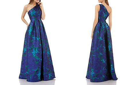Carmen Marc Valvo One-Shoulder Ball Gown - Bloomingdale's_2