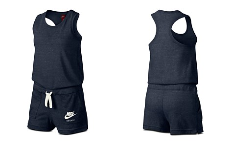 Nike Girls' Gym Vintage Romper - Big Kid - Bloomingdale's_2