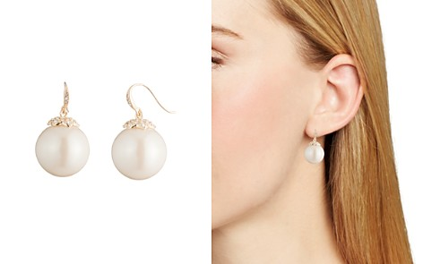 Carolee Simulated Pearl Drop Earrings - Bloomingdale's_2