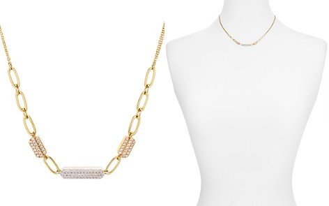"Nadri Trio Pavé Bar Chain Necklace, 15"" - Bloomingdale's_2"