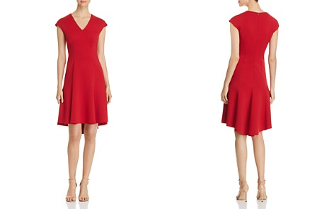 Elie Tahari Moriah Fit-and-Flare Dress - Bloomingdale's_2