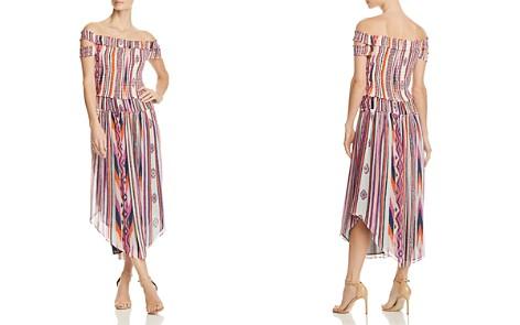 Ramy Brook Mandee Off-the-Shoulder Silk Dress - Bloomingdale's_2