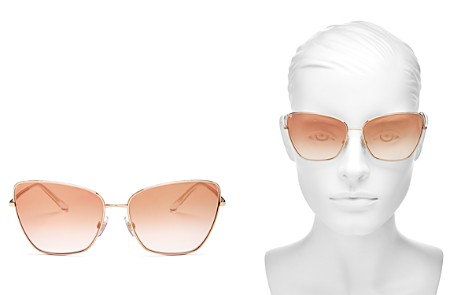 Dolce&Gabbana Women's Sicilian Sweet Mirrored Oversized Square Sunglasses, 62mm - Bloomingdale's_2
