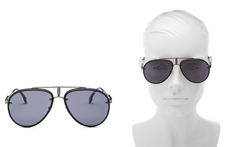 Carrera Women's Glory Brow Bar Aviator Sunglasses, 58mm - Bloomingdale's_2