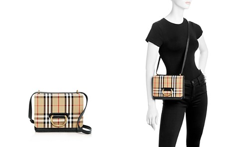 Burberry Small Vintage Check & Leather D-Ring Bag - Bloomingdale's_2