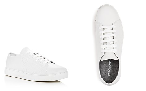 Armani Men's Leather Lace Up Sneakers - Bloomingdale's_2
