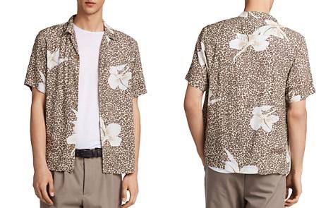 ALLSAINTS Kuhi Floral Leopard Print Shirt - Bloomingdale's_2
