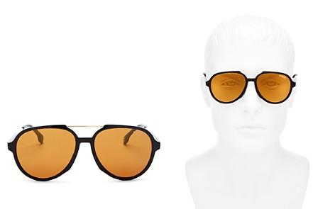Carrera Men's Brow Bar Aviator Sunglasses, 56mm - Bloomingdale's_2