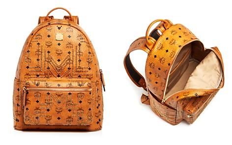 MCM Stark Gunta Medium Studded Backpack - Bloomingdale's_2